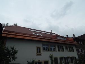Vue de cette magnifique demeure avec une toiture neuve absolument superbe.